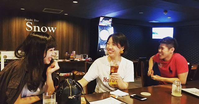 こんばんはAsobi Bar Snowです♪ダーツ好評稼働中週末暇してる方、ぜひお越しください~ #AsobiBarSnow #Snow #群馬 #前橋 #バー #お酒 #女子会 #カラオケ #ゲーム #ダーツ